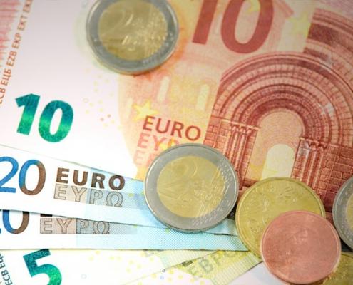 Euros papier munten geld | Mijn Keus