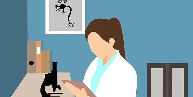arts vrouw microscoop | Mijn Keus