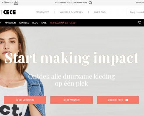 Website project CeCe | Mijn Keus