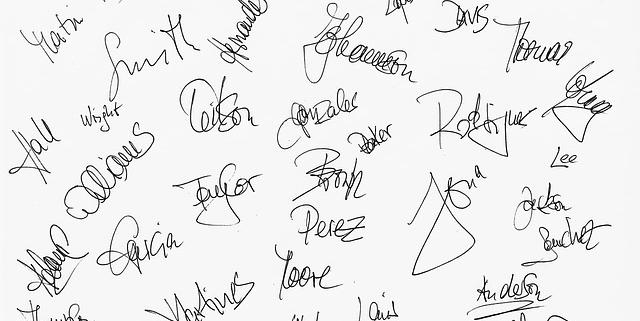 Veel handtekeningen | Mijn Keus